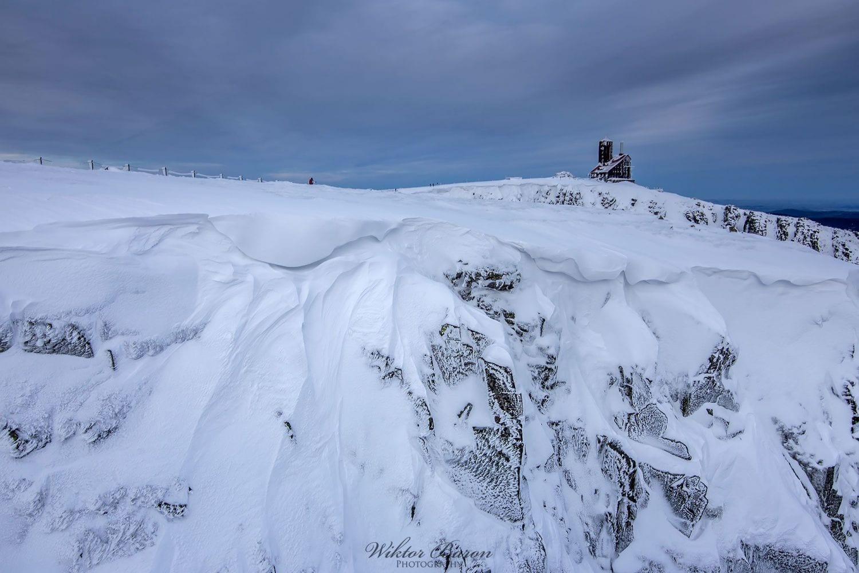 Śnieżne Kotły Zima