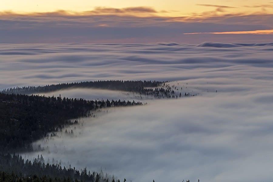 Fototapeta Morze Chmur