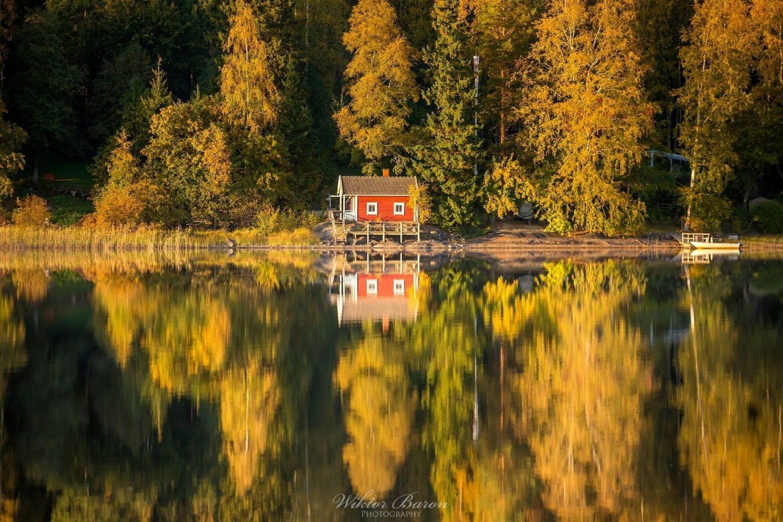Finlandia domek nad Jeziorem