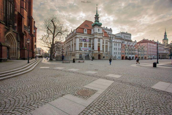 Legnica Rynek na starym mieście