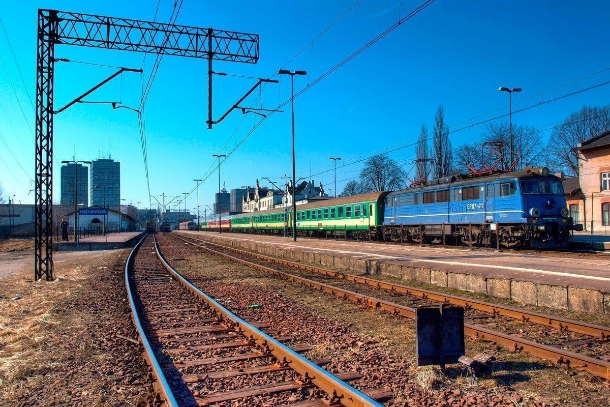Łódź Fabryczna Stacja Kolejowa