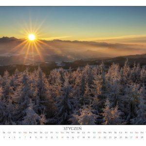 Kalendarz Góry 2018