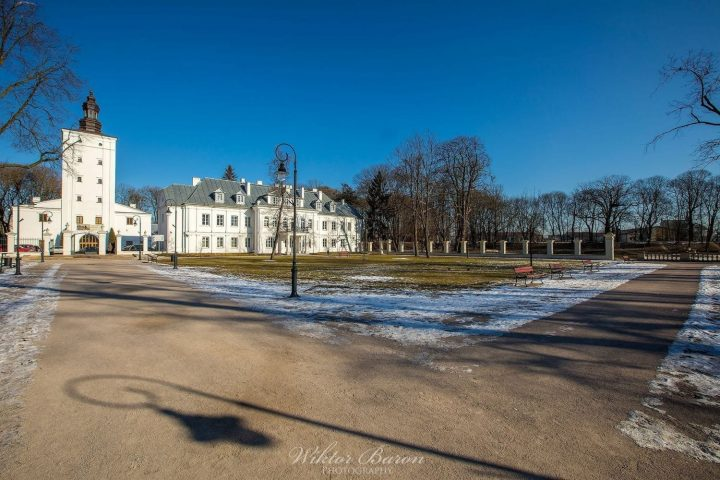 Pałac w Białej Podlaskiej.