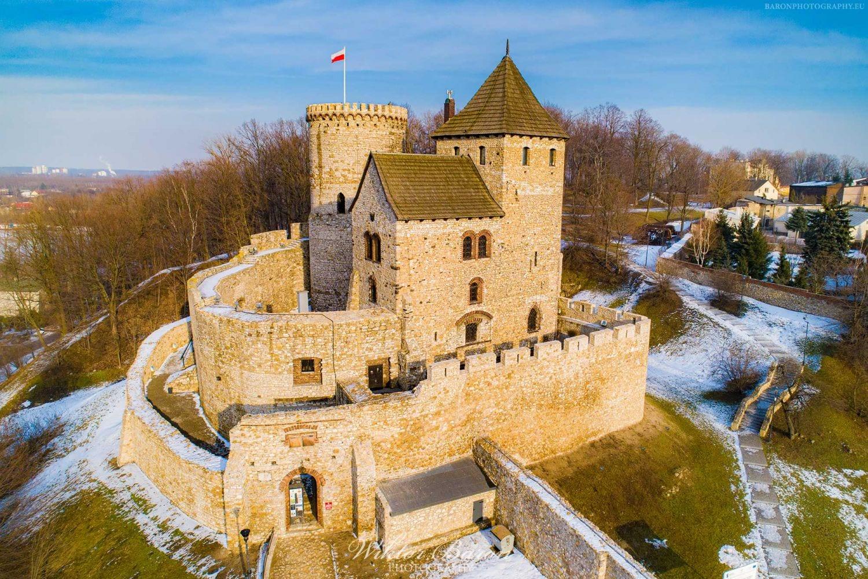 Zamek w Będzinie - Szlak Orlich Gniazd