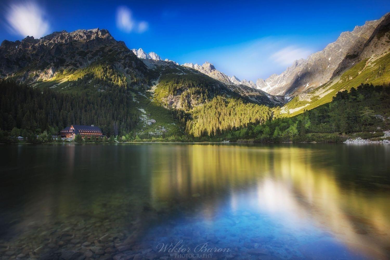 Długie czasy naświetlania w fotografii krajobrazowej