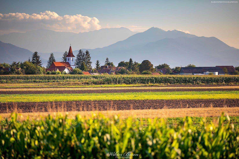 Rumunia - Krajobraz Transylwanii