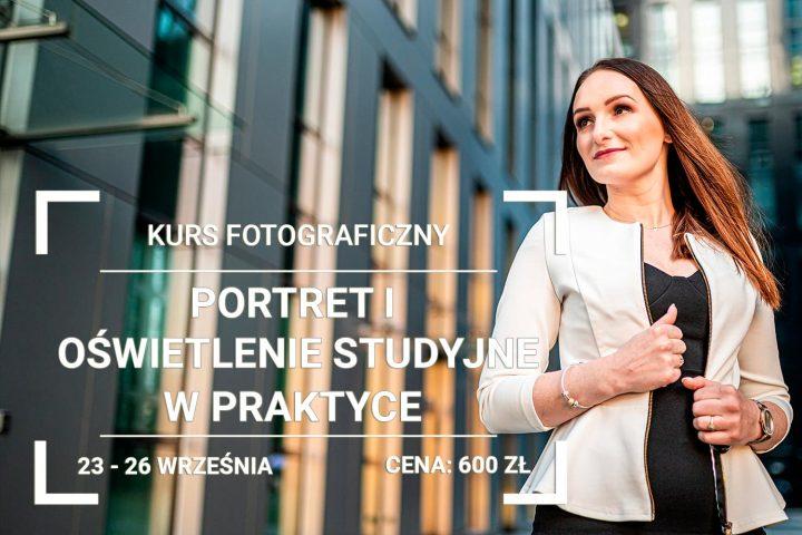 Fotografia portretowa i studyjna kurs