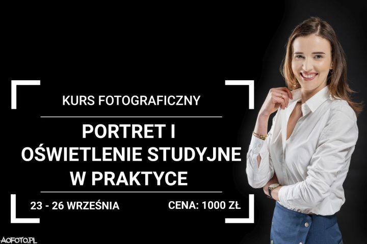Kurs Fotograficzny Portret i Oświetlenie Studyjne