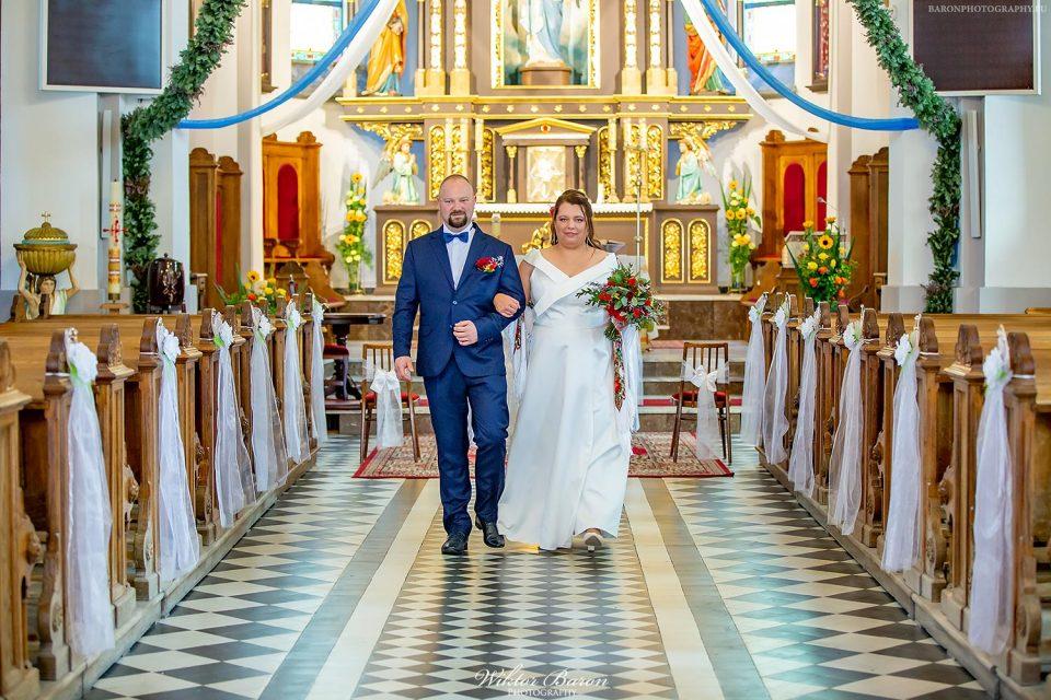 Ślub Moniki i Maćka w Piwnicznej