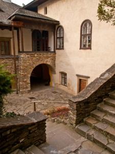 Dziedziniec zamku w Niedzicy