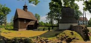 Drewniany kościół pw. św. Jadwigi Śląskiej