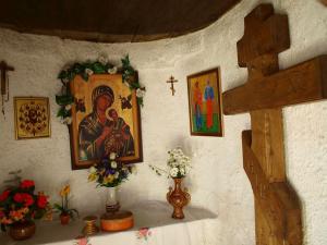 Kapliczka w Magurskim Parku Narodowym