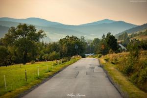 Droga w Beskidzie Niskim