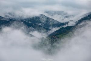 Kosarzyska  w chmurach
