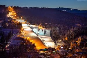 Stok narciarski Słotwiny w Krynicy