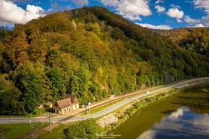 Sacja Kolejowa w Wierchomli - Beskid Sadecki