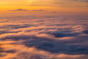 Babia Góra pośród morza chmur