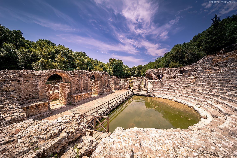 Amfiteatr w Butrint