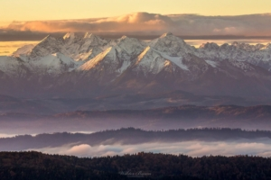 Widok na Tatry z Gorca