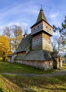 Drewniny Kościół w Grywałdzie