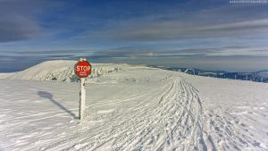 Nawisy Śnieżne na Śnieżnych Kotłach