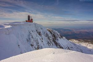 Wielki Śnieżny Kocioł Zimą
