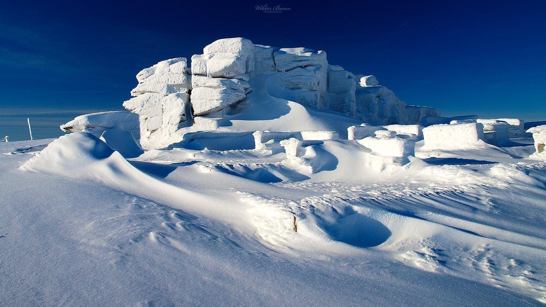 Skały na Śnieżnych Kotłach