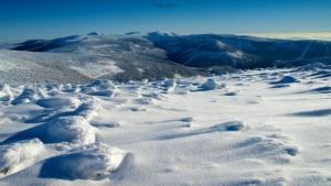 Zimowy widok z Wielkiego Szyszaka