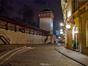 Kraków - Brama Floriańska