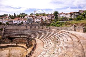 Starożytny Teatr w Ochrydzie