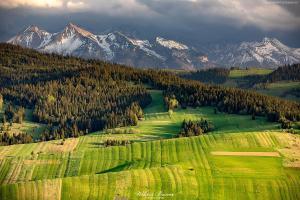Widok-z-Granderusa-w-Pieninach-Spiskich-na-Tatry
