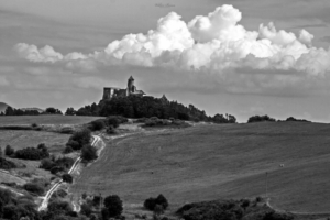 Zamek w Lubownej