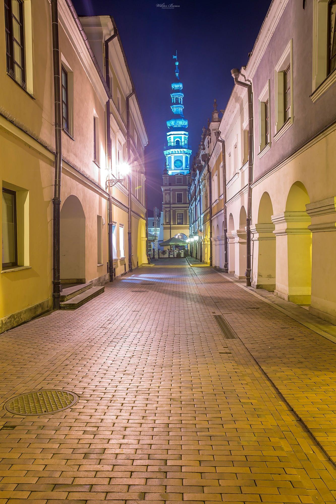 Ulica Ormiańska w Zamościu