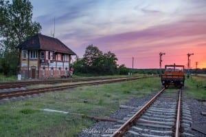 Stacja kolejowa w Ciechanowie
