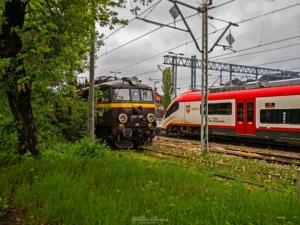 EU07 w malowaniu Przewozów Regionalnych